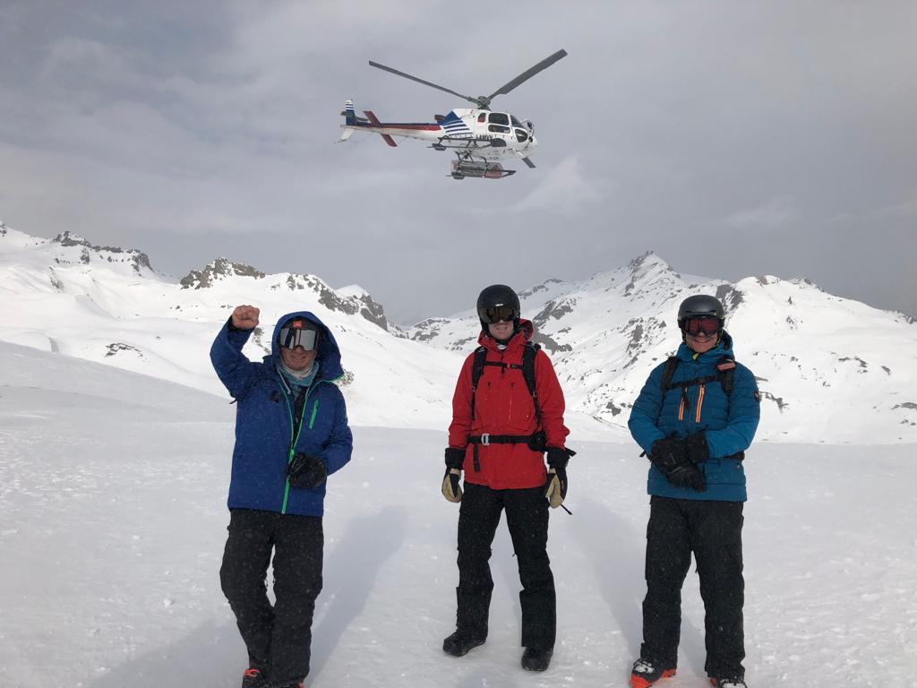 Heliski sur Serre chevalier avec Ski Premium